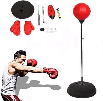 SOULONG Saco de Boxeo, con Kit de Boxeo, Altura Ajustable ...