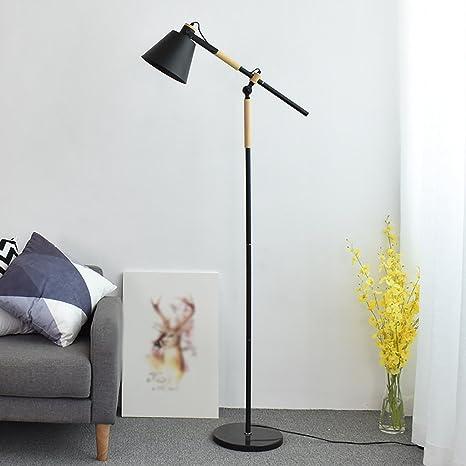 Dormitorio de la lámpara de pie Lámpara de pie de lectura estilo ...