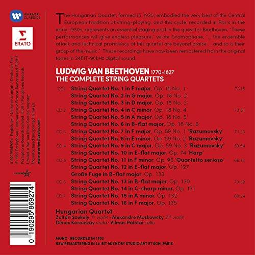 Beethoven: The String Quartets (7CD)