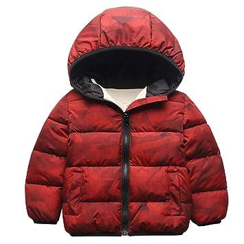 2c69d60750489 Kids Down Jacket Boys Girls Puffer Coat Packable Padded Jacket Lightweight  Snowsuit Winter Outwear