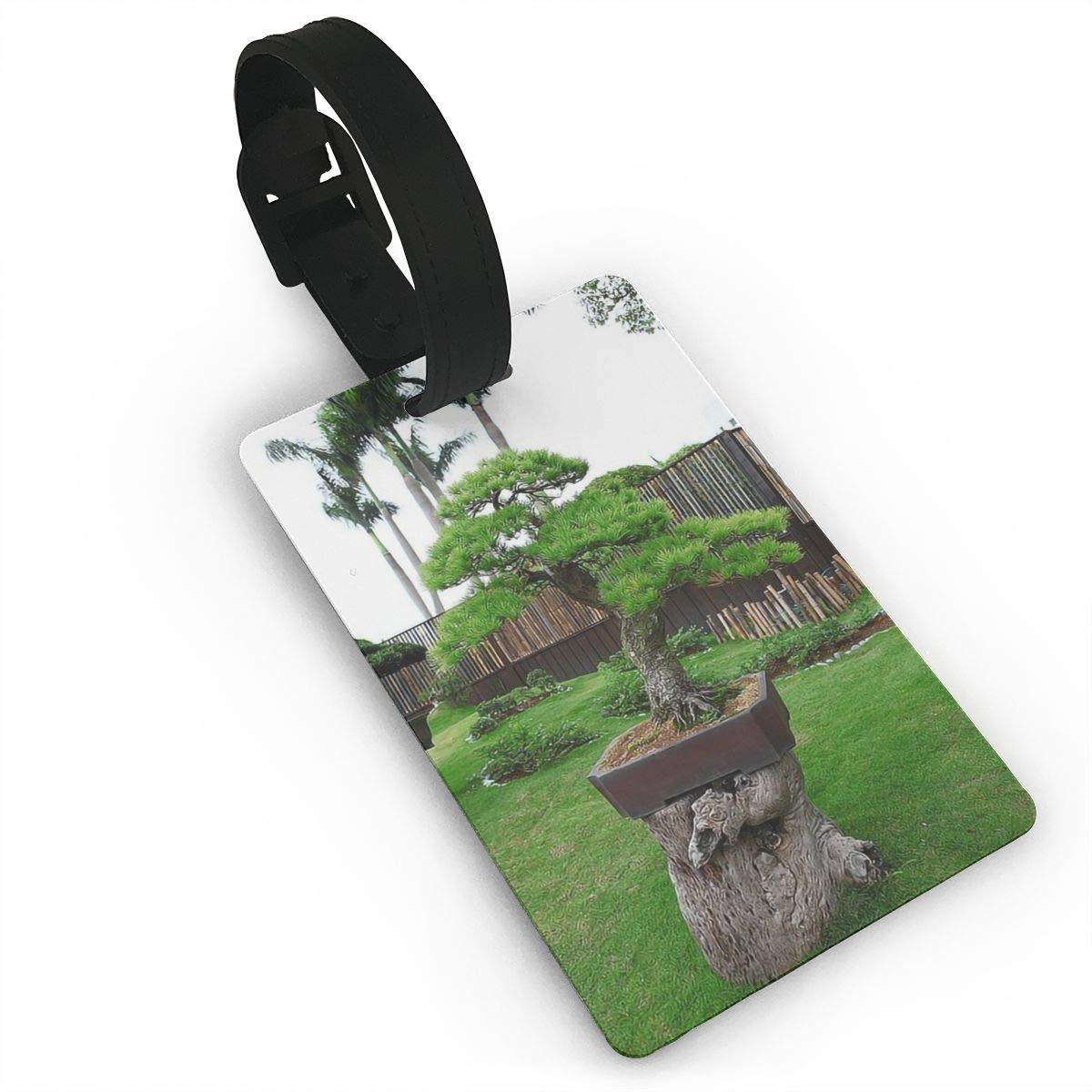 2 Pack Luggage Tags Bonsai Baggage Tag For Travel Bag Suitcase Accessories