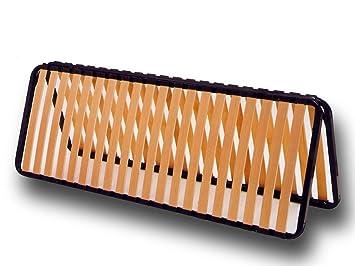 Faltbarer Lattenrost 140 X 190 Cm Amazon De Kuche Haushalt