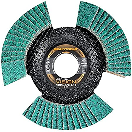 RHODIUS LSZ FS VISION K60 FLAP DISC SEE THROUGH LSZF 60G 115MM Epitome Certified Pack Size: 2