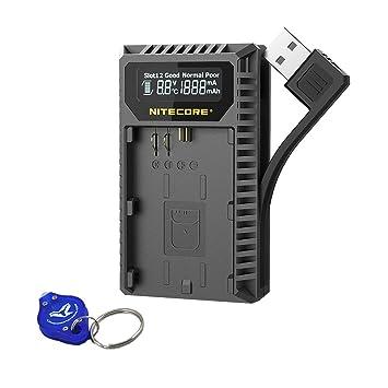 Nitecore UCN3 - Cargador USB Digital Compatible con cámaras ...