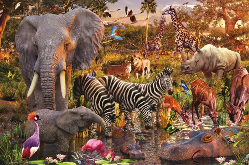 Ravensburger African Animals - 3000 Piece Puzzle