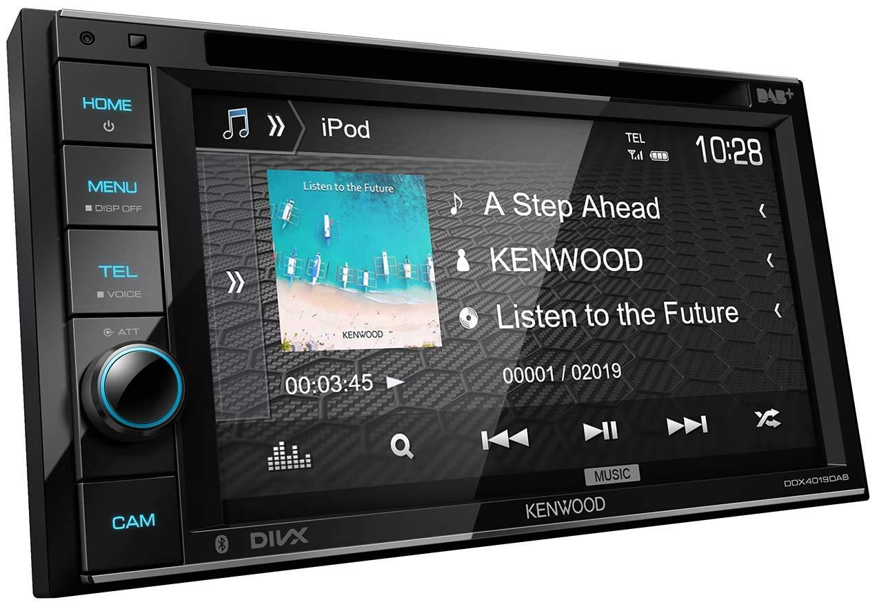Wonderbaar Kenwood DDX4019DAB DAB+ Multimedia-Autoradio mit 15,7 cm TI-26