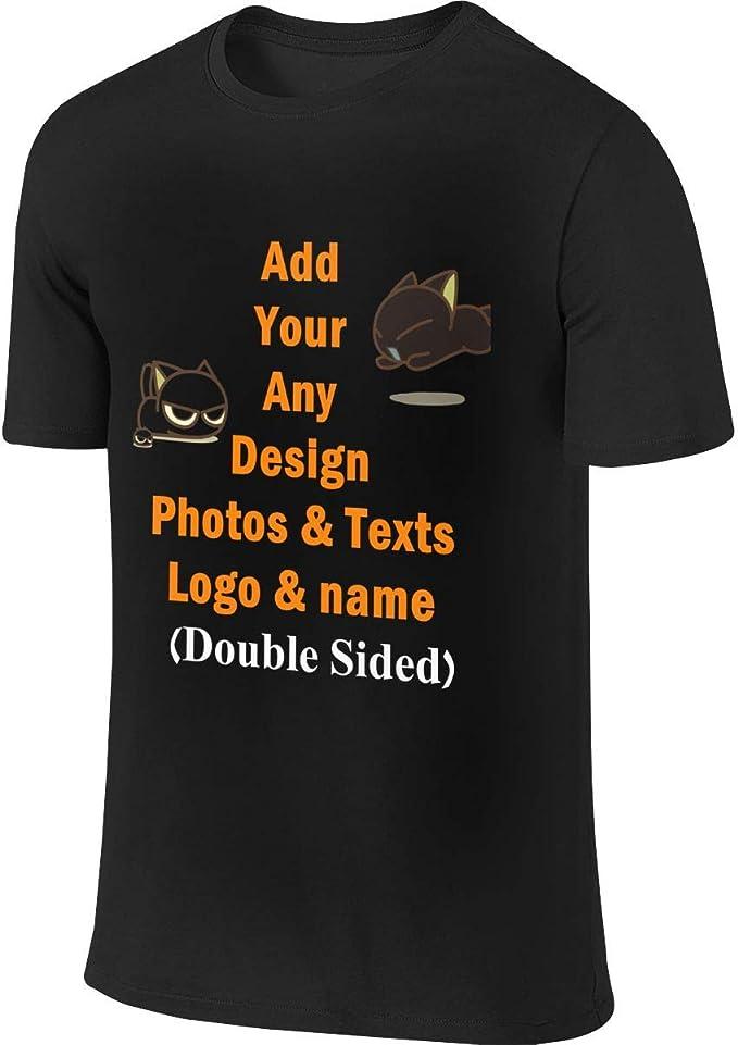 Amazon.com: Camisetas personalizadas de algodón de 2 caras ...