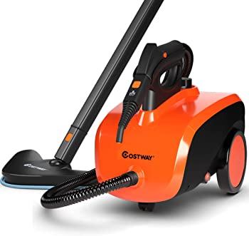COSTWAY Multipurpose Rolling Commercial Steam Cleaner