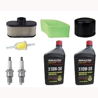 Amazon.com: Kit de mantenimiento del motor para John Deere ...