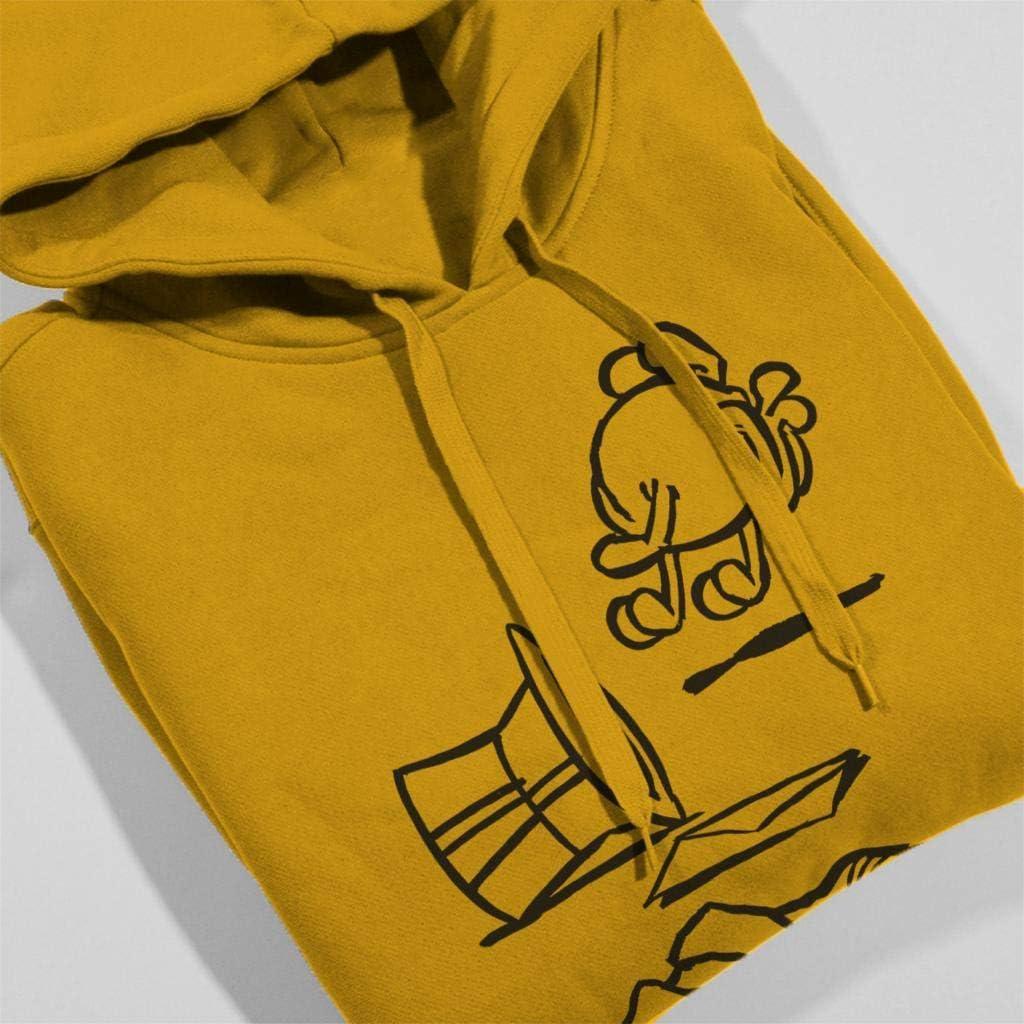 Comics Kingdom Grimmy Abandoned Clothes Mens Hooded Sweatshirt