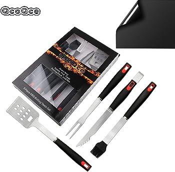 QcoQce 5 Piece BBQ Tools