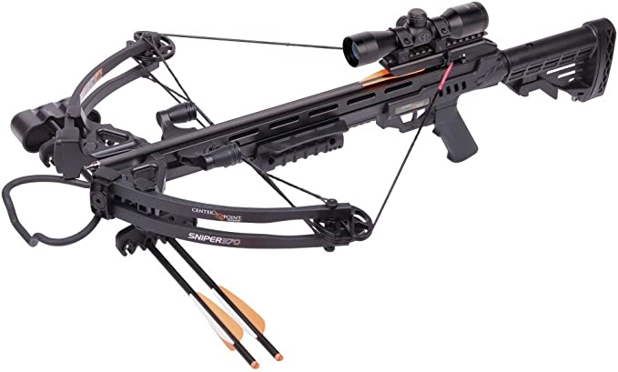 Best Crossbows :  CenterPoint Sniper 370- Crossbow