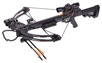 CenterPoint Sniper 370 Crossbow Package (Black)