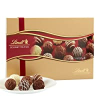 Deals on Lindt LINDOR Assorted Chocolate Gourmet Truffles Gift Box
