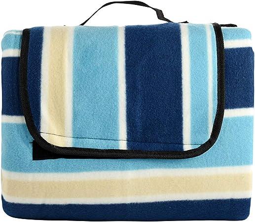 200x200CM Waterproof Large Picnic Blanket Family Camping Travel Beach Mat UK