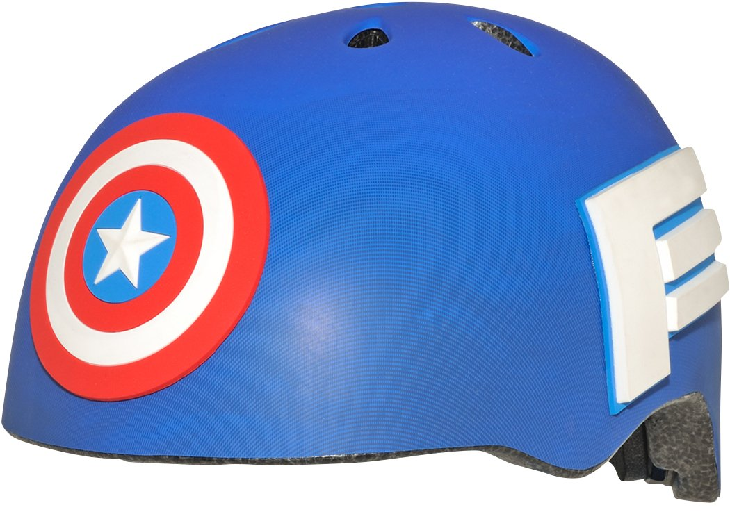 BELL Kids' Captain America Child MS 3D Helmet, Multi Coloured, 50-54 cm 7074675