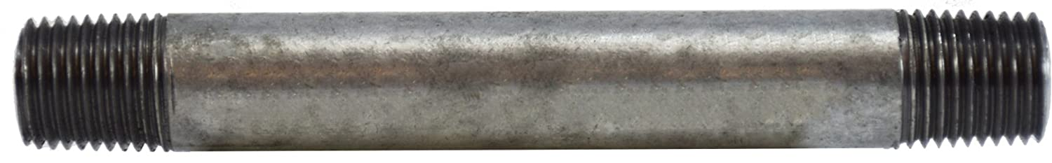 Midland 56-026 SCH 40 Welded Galvanized Steel Nipple Galvanized Steel 1//4 OD 4 Length 1//4-18 thread 1//4 Diameter