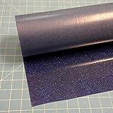 Siser Glitter Royal Blue 20'' x 10' Iron on Heat Transfer Vinyl Roll, HTV