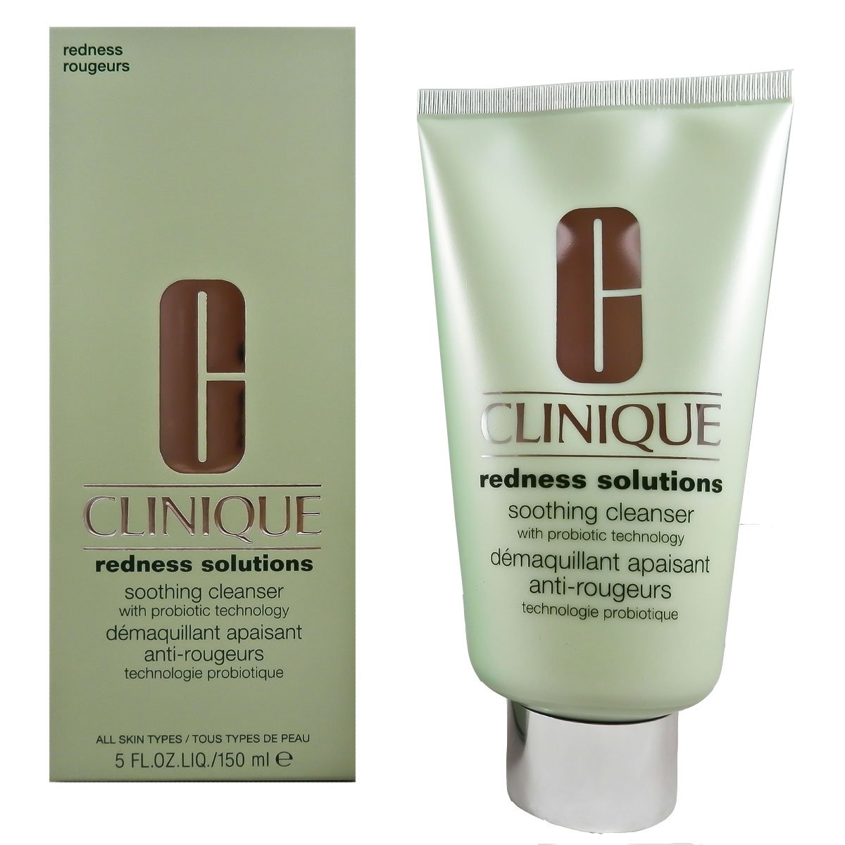 Clinique Redness Solutions Soothing Cleanser for Unisex, 5 Ounce