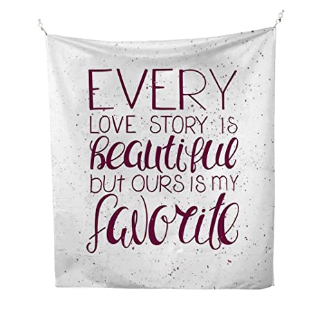 Amazoncom Romantictapestryromance Quote Our Story Is My Favorite