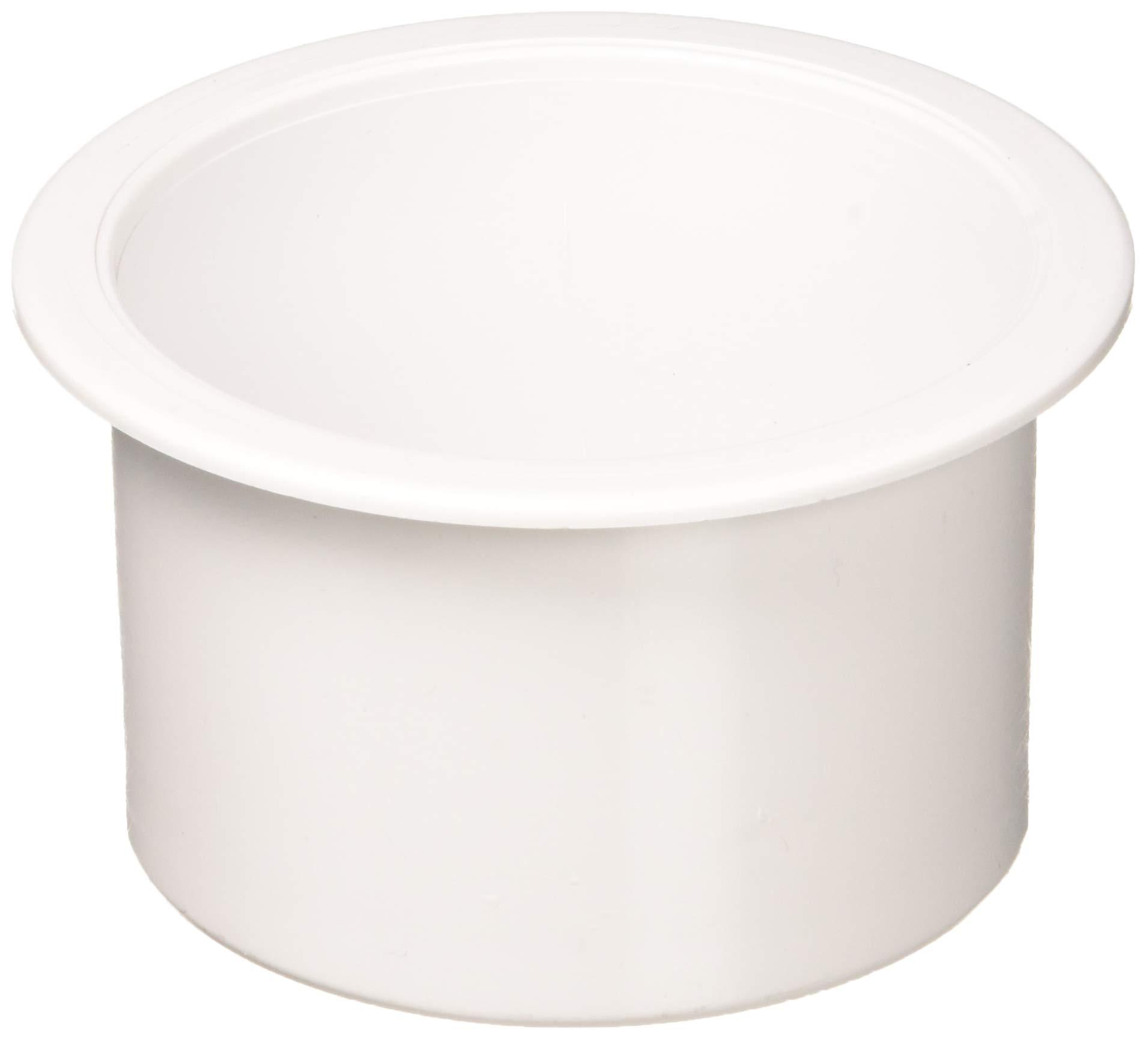 Sea-Dog 588001 Flush Mount Drink Holder, 2'' Deep - White