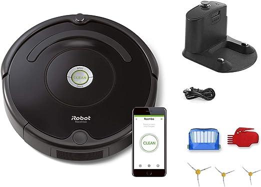 iRobot Roomba 675 Robot aspiradora Bundle – Wi-Fi Conectado, Ideal ...