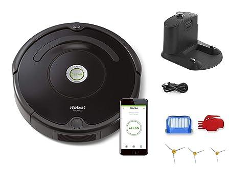 iRobot Roomba 675 Robot aspiradora Bundle - Wi-Fi Conectado, Ideal ...