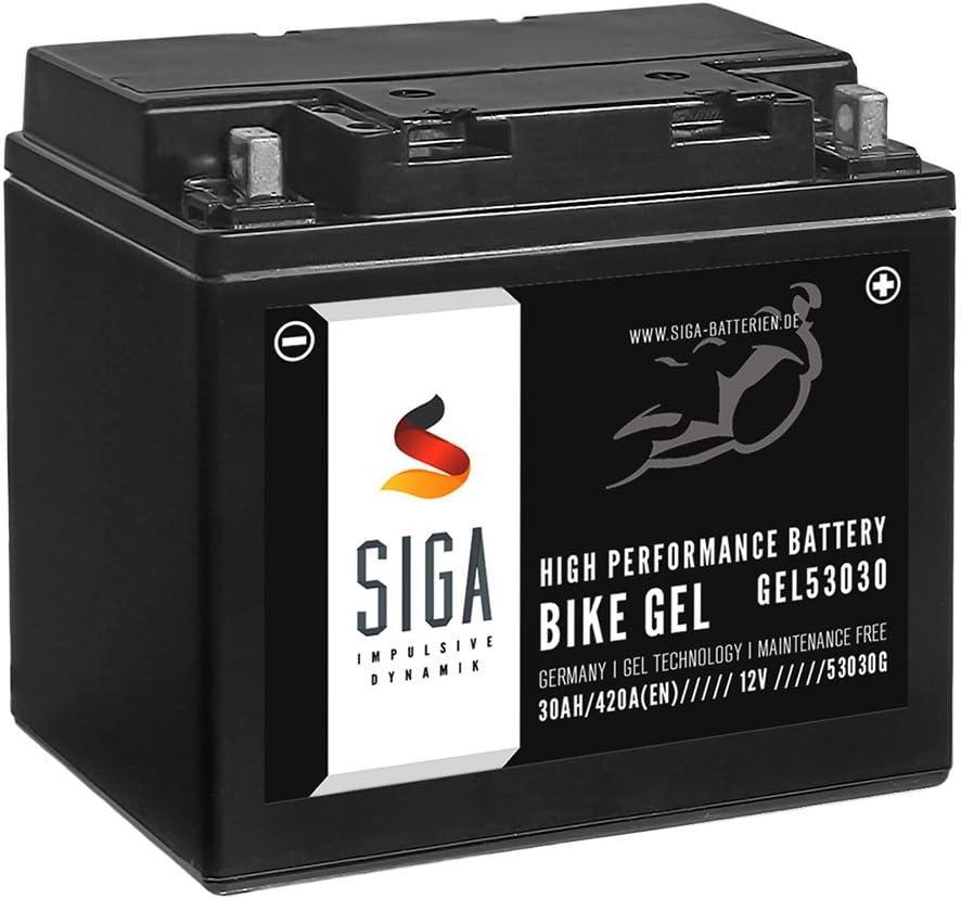Siga Bike Gel Batterie 30ah 12v 420a Elektronik