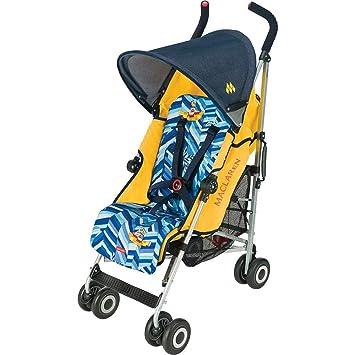 Amazon.com: Maclaren Quest Sport carriola, Beatles Yellow ...