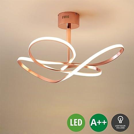 Diseño Moderno Dormitorio Lámpara de techo LED Lámpara de ...