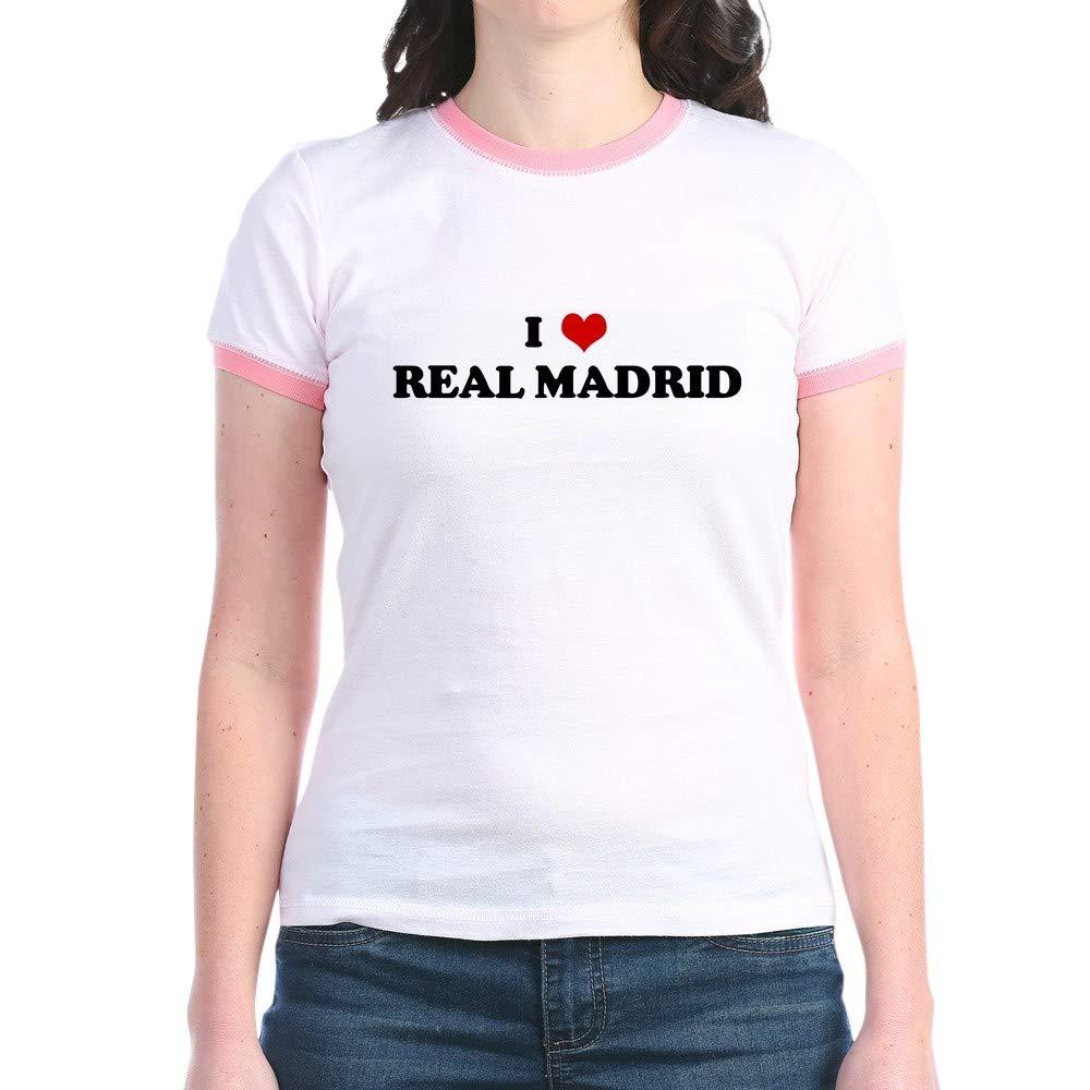 I Love Real Madrid Jr Ringer T Ringer T Shirt 6778
