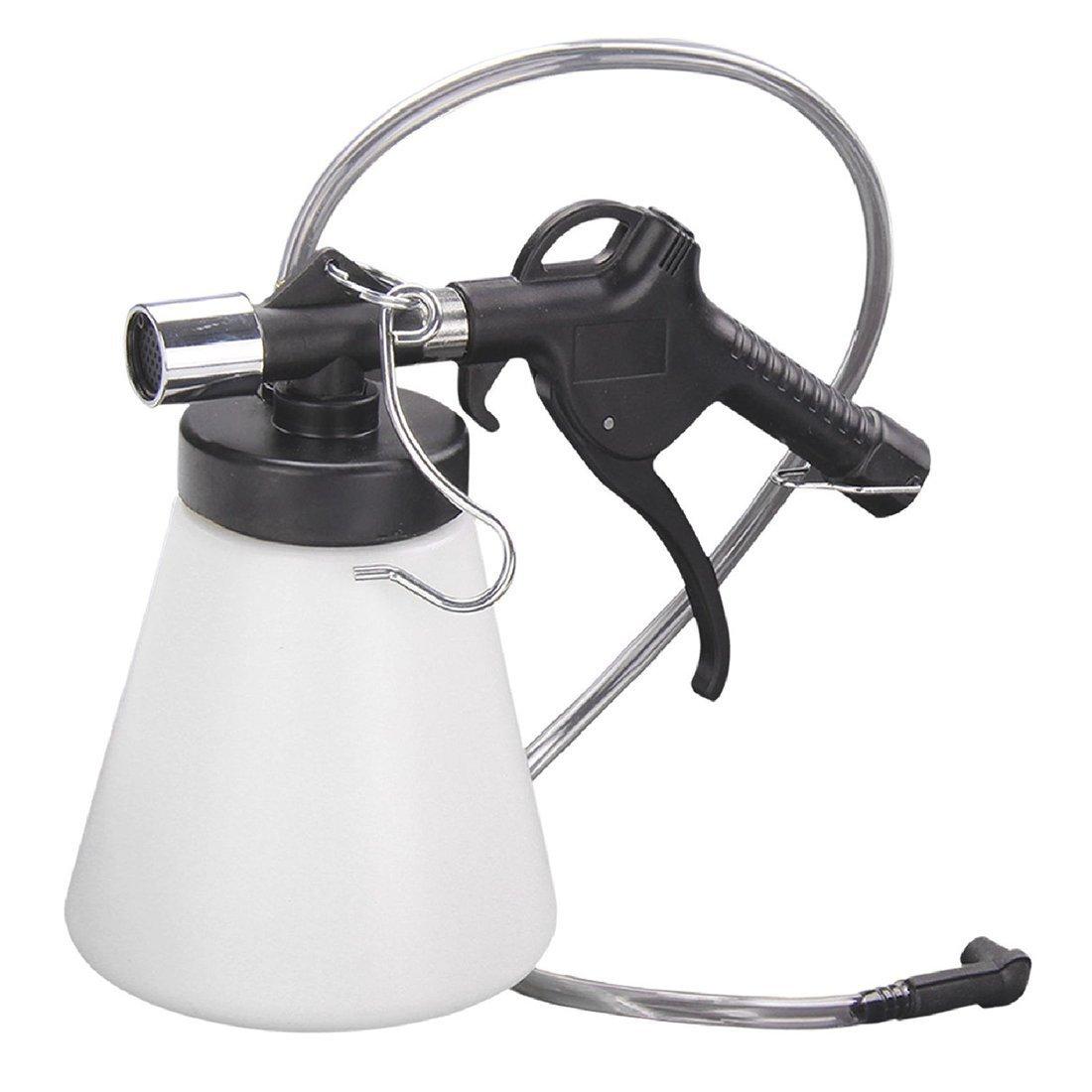 SODIAL(R) Car Brake Clutch Bleeder Bleeding Fluid Kit Air Powered Pneumatic Vacuum Tool 1L 089187