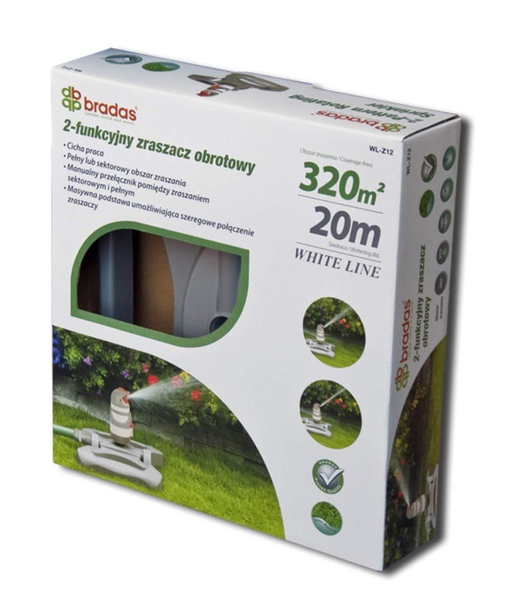 WHITE LINE Sprenger Gartensprenger Rasensprenger Regner WL-Z01