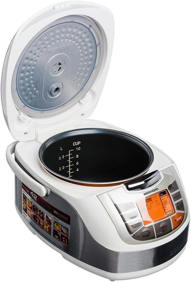 REDMOND - RMC-M4502E - Robot de cocina (Blanco): Amazon.es: Electrónica