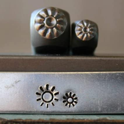 CH-308309310 Sun and Mini Sun Metal Punch Design 3 Stamp Set Brand New 5mm and 3mm Sunrise Supply Guy