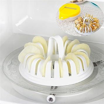simonshop microondas patatas chips cesta de cocción bandeja ...