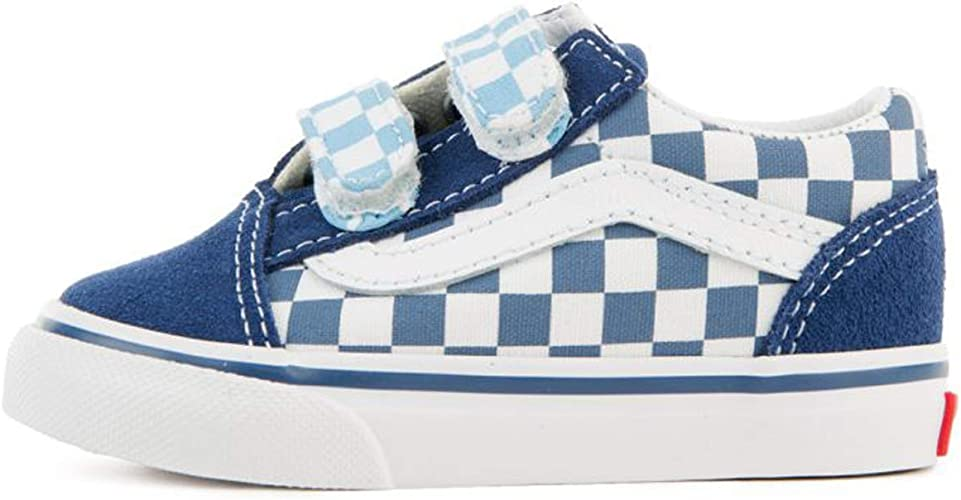 | Vans Old Skool V (Checkerboard) True Navy