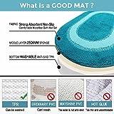 DADA Bath Rug Set Non Slip Machine Washable and