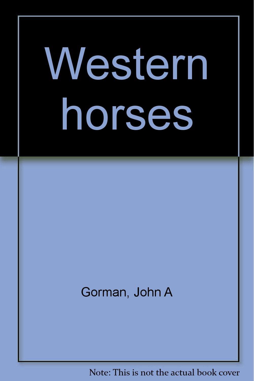 Western horses