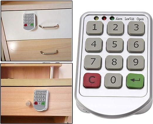 FairOnly Universale Intelligente induzione Serratura Senza Foro Elettrico a Batteria RFID Cabinet Lock Furniture Lock cassetto Serratura con Chiave RFID
