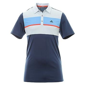 adidas Climacool Chest Block Camiseta Polo de Manga Corta de Golf ...
