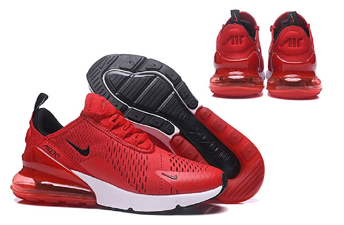 Mens Sneaker Red Max 270 Running Trainers Shoes