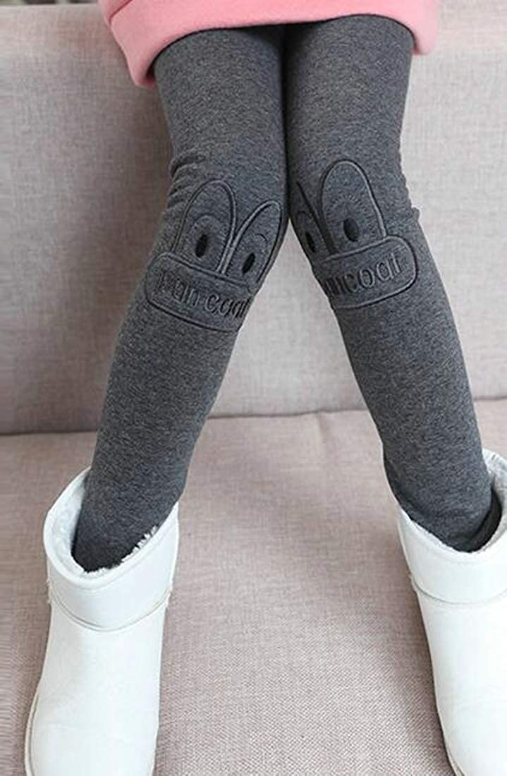 Sweatwater Girls Pants Cozy Cute Stretch Fleece Thickened Legging