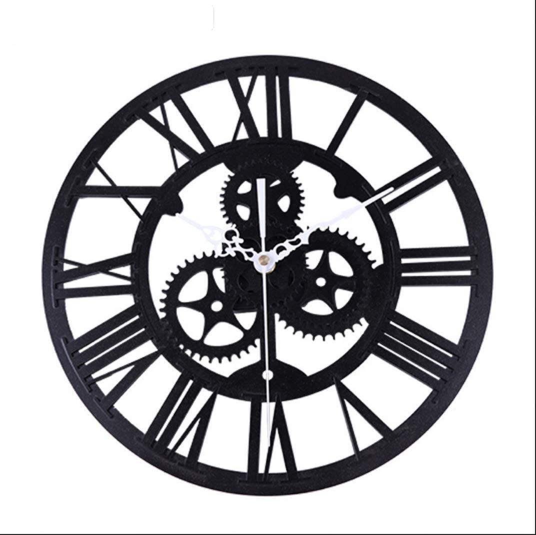SMACO Reloj De Pared Creativo Acrílico Engranaje Grande DIY Reloj ...