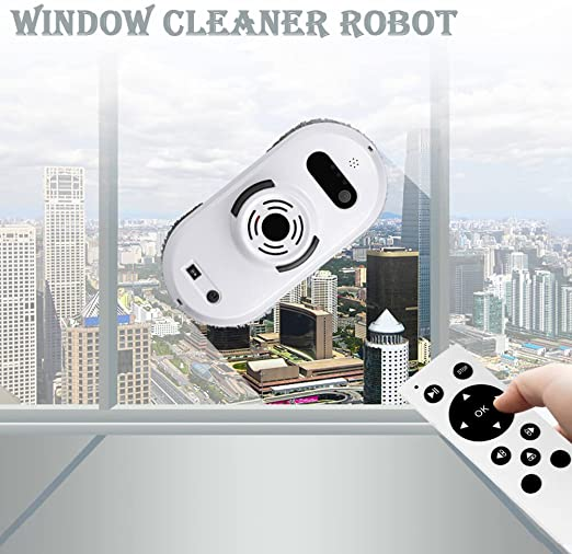 Robot aspirador Auto Clean Anticaída Smart ventana Cleaner ...