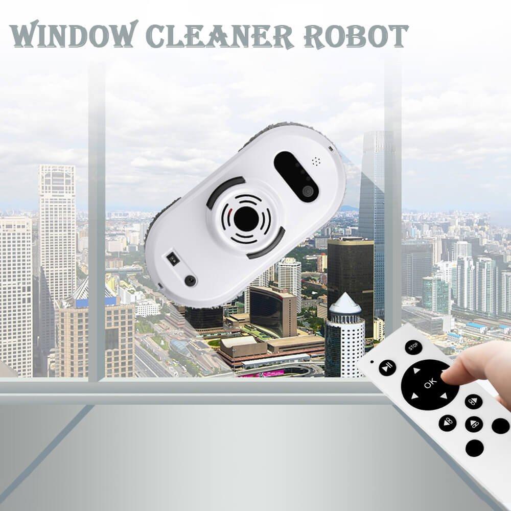 Robot aspirador Auto Clean Anticaída Smart ventana Cleaner Limpiador ...