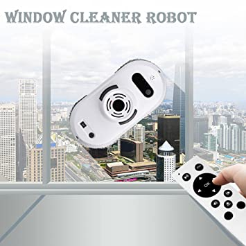 Robot aspirador Auto Clean Anticaída Smart ventana Cleaner Limpiador para cristal mejor regalo para Navidad blanco: Amazon.es: Hogar