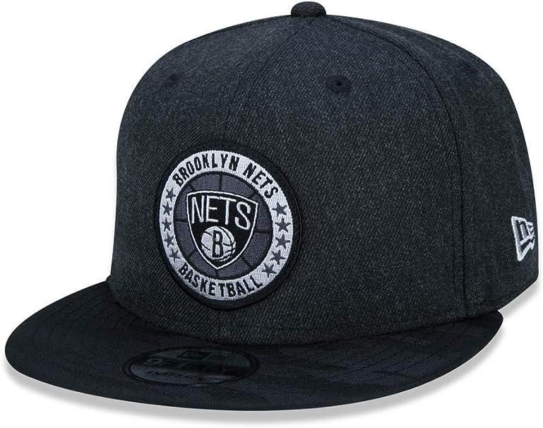 A NEW ERA Gorras Brooklyn Nets Tipoff Series 9Fifty Heather Black ...