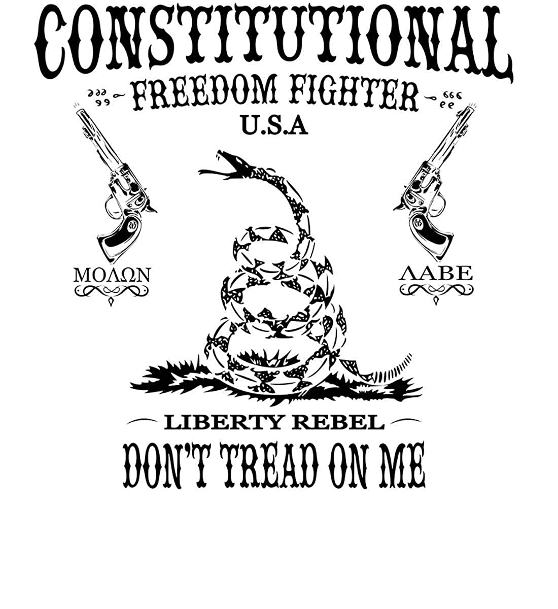 Liberty Rebel Sons Of Liberty Constitutional Freedom Fighter MOL Long Sleev.