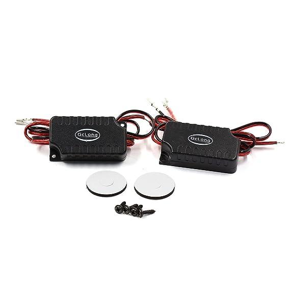 Amazon.com: DealMux 2 Pcs 92dB Rodada Car Audio altofalantes altos Tweeters 180W 4 OHM: Automotive